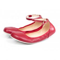 SHAPEN Barefoot balerínky TULIP II CHERRY