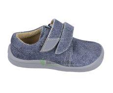 Béda Barefoot Denis - nízke topánky sivá podrážka   21, 28, 29, 31, 32, 34