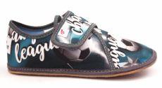 Ef barefoot papučky 394  Champion grey -  uzavřené