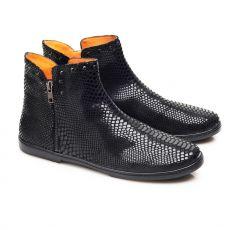 Kožené topánky ZAQQ QUAKERTOWN Black | 40