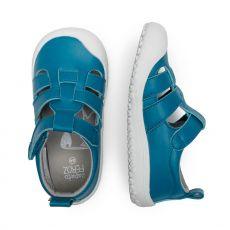 Barefoot Sandálky zapato FEROZ Denia rocker microfibra Aqua bosá