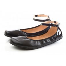 SHAPEN Barefoot balerínky TULIP II Black wide