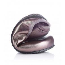 Barefoot SHAPEN Barefoot balerínky TULIP II Bronze wide bosá