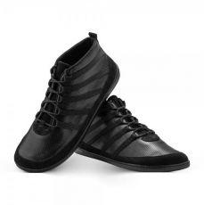 Barefoot topánky ZAQQ SPARQ Mid Black | 39, 40