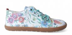 Barefoot celoroční boty KOEL4kids - KOEL4kids - Lady white flowers