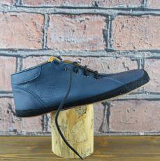 Celoroční boty - Bosé Pegresky pro dospělé - modrá s černým okopem