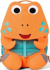 Detský batoh do škôlky Affenzahn Crab large - neon orange