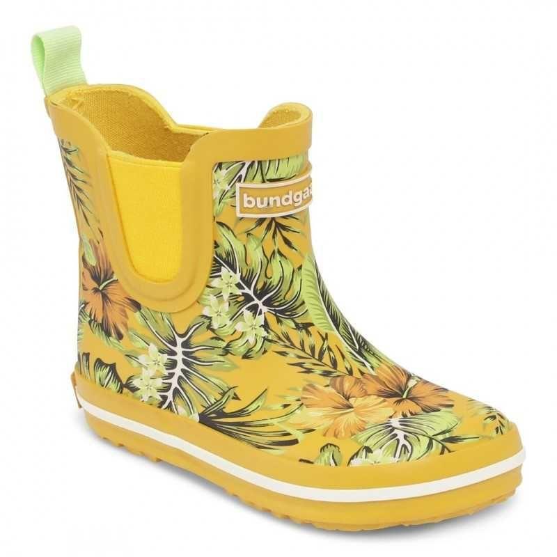 Barefoot Holínky Bundgaard SHORT Rubber Boot Tropical bosá