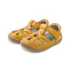 Sandálky Little blue lamb Panga yellow