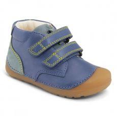 Barefoot topánky Bundgaard Petit Velcro Šport Tru Blue WS | 21, 22