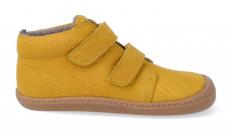 Barefoot zateplené topánky KOEL4kids - BOB ocra   21, 22, 23, 24, 25, 26, 27, 28