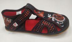 Ef barefoot papučky 386 T-REX - otvorené   25, 26