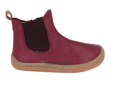 Froddo barefoot topánky chelsea bordeaux   24, 25, 29, 30, 33, 34, 37