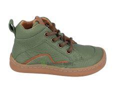 Froddo barefoot celoročné topánky olive - šnúrky