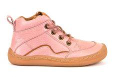 Froddo barefoot členkové celoročné topánky pink - šnúrky   20, 21, 22, 23, 24, 37, 38, 39, 40
