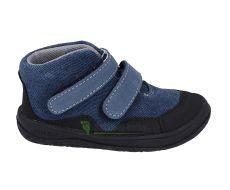JONAP barefoot topánky BELLA S riflová SLIM   22, 23, 25, 29