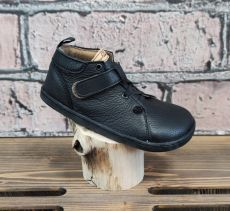 Barefoot kožené topánky Pegres BF52 - čierna   26, 28