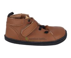 Barefoot kožené topánky Pegres BF52 - hnedá   26, 27
