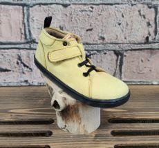 Barefoot kožené topánky Pegres BF52 - žltá   26, 27, 28, 29, 34