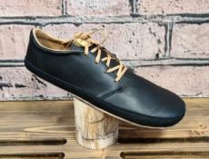 Barefoot kožené topánky Pegres BF71 - čierna   37, 38, 40, 41, 43