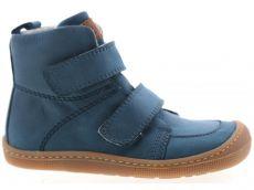 Barefoot zimné topánky KOEL4kids - Bernardinho - turquoise   22, 23, 24, 25, 26, 27, 28, 29, 30