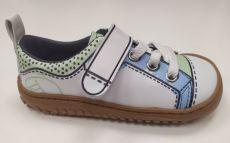 Celoročné topánky Zapato Feroza Paterna rocker Print azul verde | 24, 25, 27, 28, 29, 30, 31