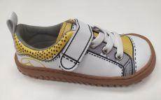 Celoročné topánky Zapato Feroza Paterna rocker Print gris amarillo | 24, 25, 26, 27, 28, 29, 30, 31