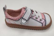 Celoročné topánky Zapato Feroza Paterna rocker Print rose | 24, 25, 27, 29, 30, 31