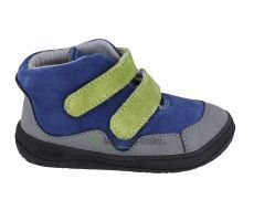 JONAP barefoot topánky BELLA S modrozelená SLIM   22, 25, 26, 27, 29, 30