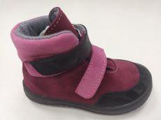 JONAP barefoot topánky JERRY vínová   22, 23, 24, 25, 29