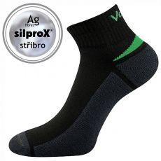 Ponožky VOXX pre dospelých - Aston silproX - čierna | 35-38, 39-42, 43-46
