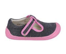 Protetika Kirby pink - textilné tenisky / prezúvky   21, 22, 23, 24, 25, 26, 28, 29, 33, 35