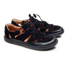 Športové kožené sandále ZAQQ QLEAR Black | 39
