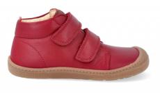 Barefoot celoročné topánky KOEL4kids - DON red   21, 22, 23, 24
