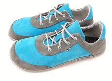 Beda barefoot kožené topánky - grey heaven   40, 41