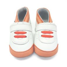 Topánočky Lait et Miel tenisky oranžové   12-18 M, 18-24 M