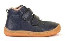 Froddo barefoot zimné členkové topánky blue s pravým kožúškom   20, 21, 22, 23, 24, 25, 26, 27, 37, 38, 39, 40