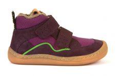 Froddo barefoot zimné členkové topánky purple   23, 24, 25, 26, 27, 37, 38, 39, 40