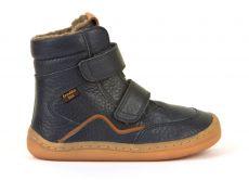 Froddo barefoot zimné vysoké topánky blue - s membránou   23, 24, 25, 26, 27, 28, 29, 30, 31, 32, 33, 34, 35
