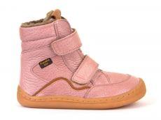 Froddo barefoot zimné vysoké topánky pink - s membránou | 23, 24, 25, 26, 27, 28, 29, 30, 31, 32, 33, 34, 35