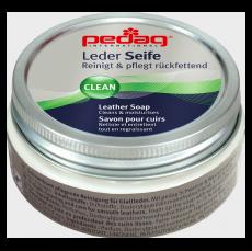 Pedag LEATHER SOAP čistiace mydlo na topánky z hladkej usne vrátane TEX-membrán