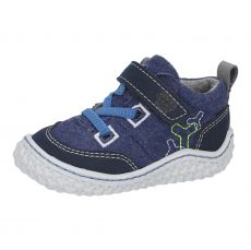 Vlnené barefoot topánky RICOSTA Filou M nautic 17218-174 | 20, 21, 22, 23, 24, 25, 26