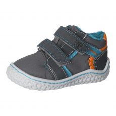Zimné barefoot topánky RICOSTA Lion M graphit / grigio 17219-454 | 20, 21, 22, 23, 24, 25, 26