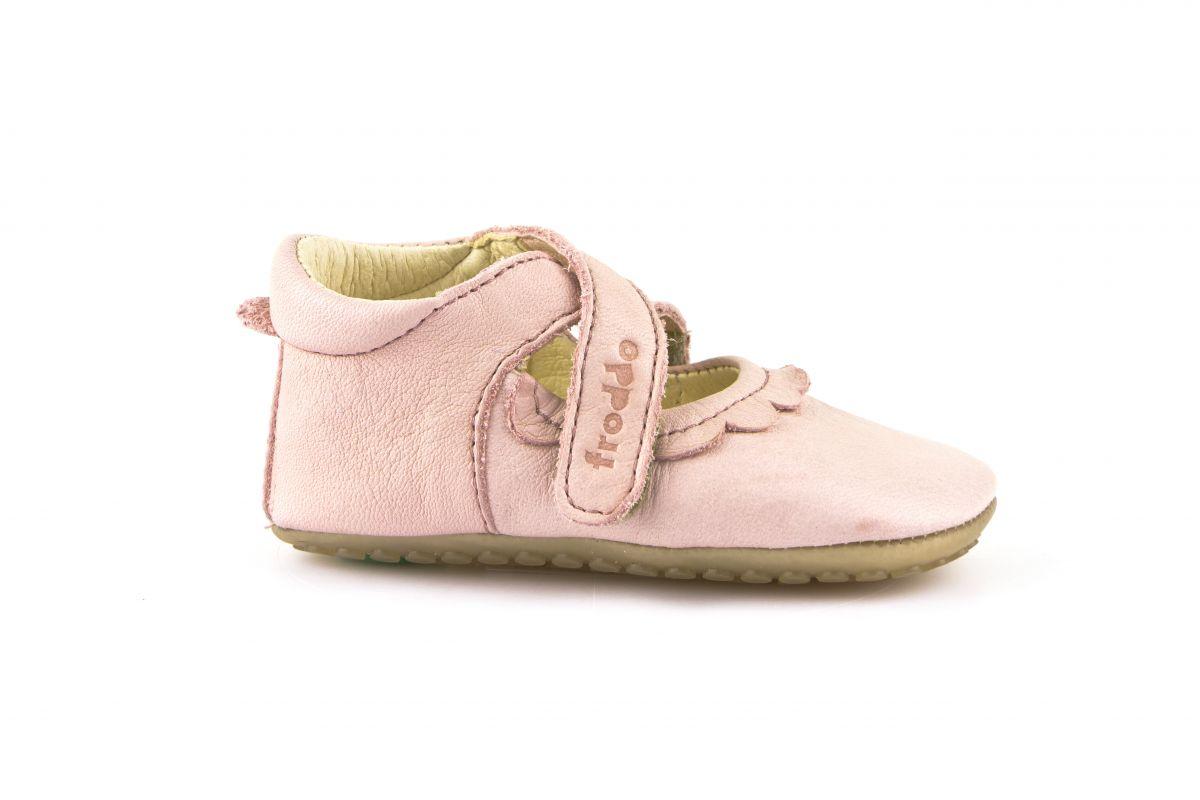 Barefoot Froddo prewalkers balerínky růžové bosá