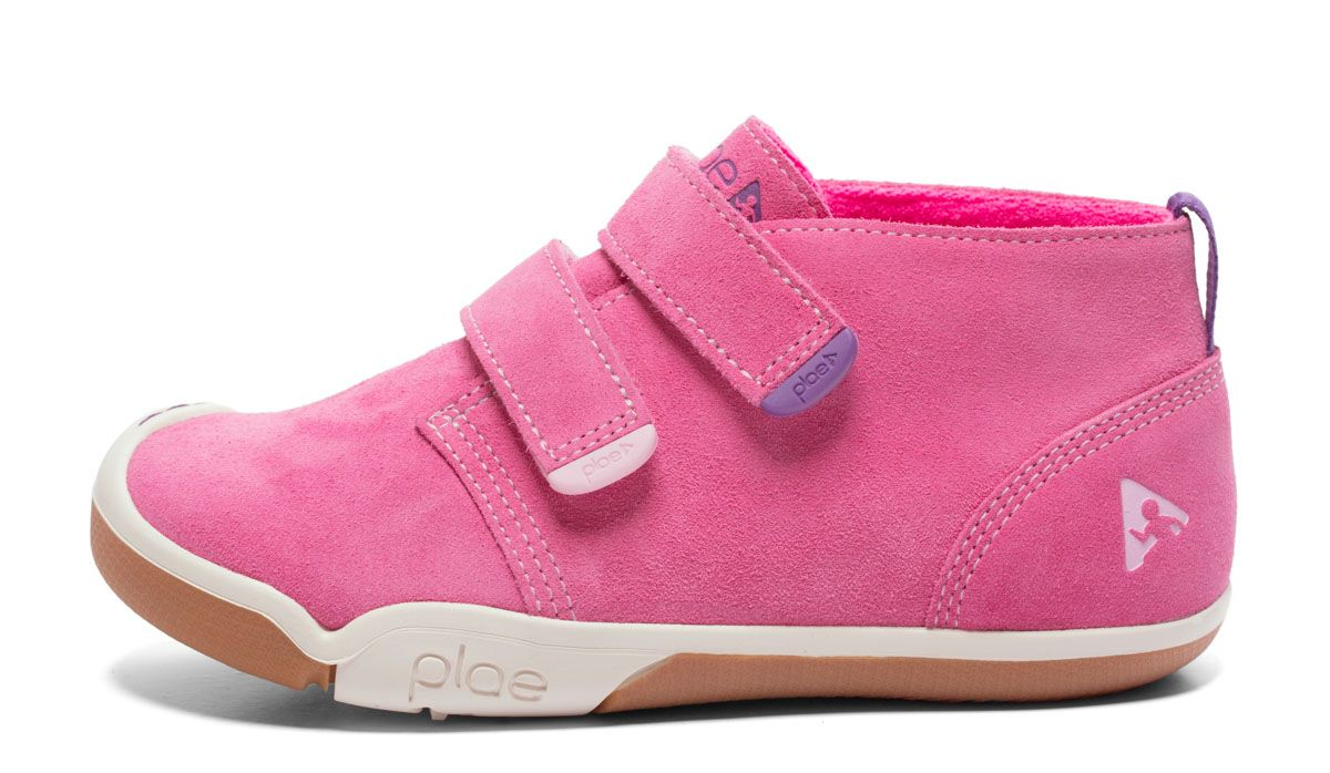 Barefoot Plae Lou Suede Pink bosá