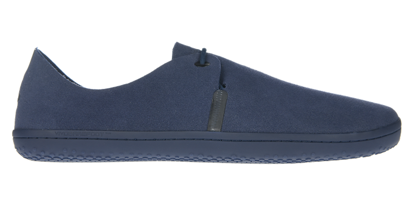 Barefoot Vivobarefoot RIF M Eco Suede Navy bosá