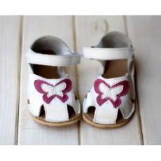 ZeaZoo Kids NEMO White girls - sandálky biele | 22/23