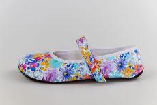 Ahinsa shoes Balerínka kytičková (Ananda) užší