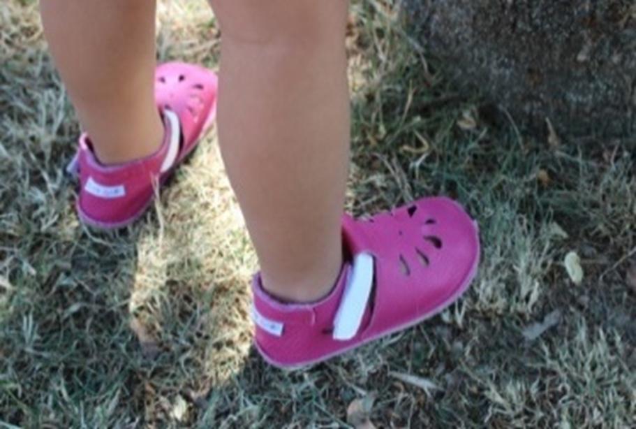 Barefoot Baby bare shoes Sandálky / papučky IO Waterlily bosá