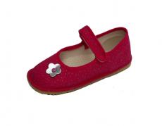 Beda barefoot - balerínky - růžová se třpytkami